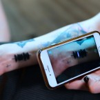 Smartphone Tattoo